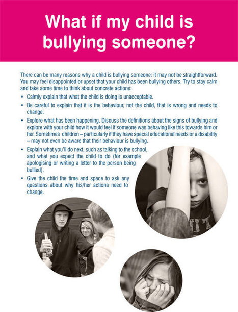 Bullying and your child-Εγχειρίδιο για Γονείς | Be  e-Safe | Scoop.it