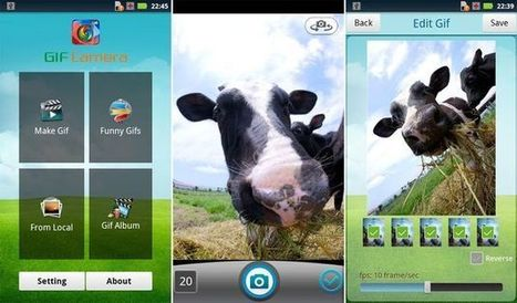 GIF Camera, crea y comparte gifs animados con esta app gratuita para Android | EduEines | Scoop.it