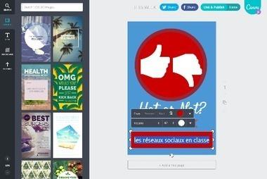 Réalisez aisément des infographies avec Canva   veille education   Scoop.it