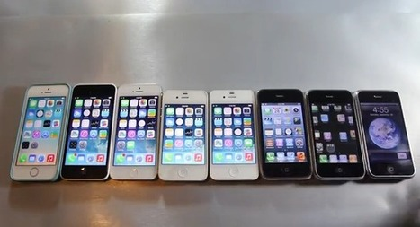 See a speed test between every iPhone model ever made - CNET | Tablets & phones | Scoop.it