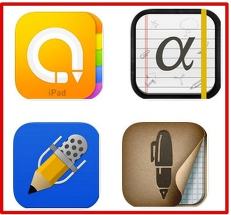 The Best 4 iPad Note Taking Apps for Students and Teachers | School Leaders on iPads & Tablets | Scoop.it
