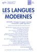 Appel à contributions - Les Langues Modernes 1-2017 « La télécollaboration interculturelle » - date limite d'envoi des propositions : 27 mars 2016 - Association des Professeurs de Langues Vivantes | Langues et TICE | Scoop.it