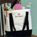 Personalized Tote Bags - Bridesmaid Tote Bags - Sincerity Weddings | event dresses and jewelry | Scoop.it