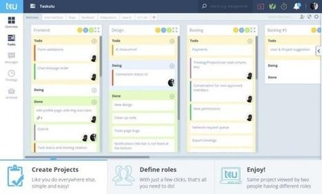 taskulu, un fantástico sistema de gestión de proyectos en la web | Herramientas digitales | Scoop.it