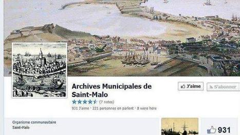 Les archives municipales sont sur Facebook | GenealoNet | Scoop.it