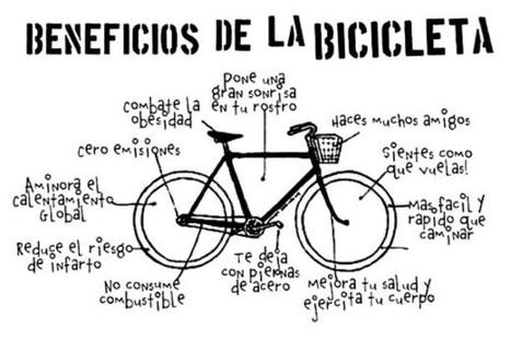 5 razones por las que vale la pena invertir en las bicicletas en la ciudad | Paco Prieto | Scoop.it