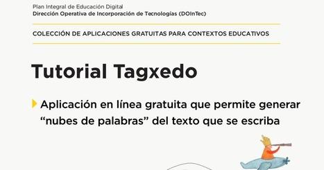 Tutorial Tagxedo.pdf | Siguiendo a un autor | Scoop.it