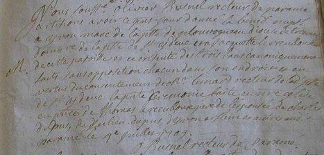 Qui pourrait m'aider à confirmer le nom de cette paroisse puis à la localiser ? | Généalogie et histoire, Picardie, Nord-Pas de Calais, Cantal | Scoop.it