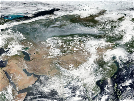 #Siberia's #wildfires seen from 1 million miles away: even the #tundra is burning #climate | Messenger for mother Earth | Scoop.it