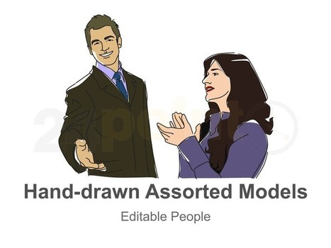 Assorted Models  for PowerPoint Presentations - Hand-drawn | PowerPoint Presentation Tools and Resources | Scoop.it