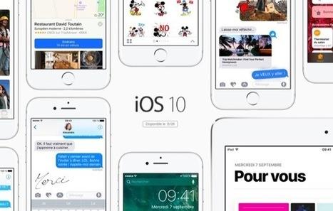 Guide iOS 10 : toutes les nouveautés listées avant sa sortie officielle | L'e-Space Multimédia | Scoop.it