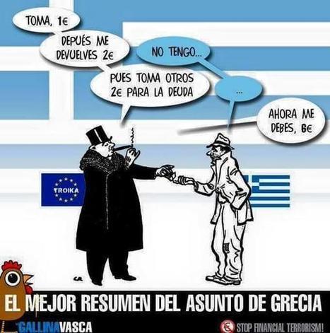 """El Nobel Krugman califica de """"locura"""" las exigencias del Eurogrupo a Grecia y de golpe Estado camuflado   Conoceran la verdad, y la verdad les hará libres : El Maestro   Scoop.it"""