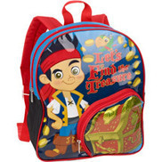 """Jake & The Pirates 12"""" Backpack 