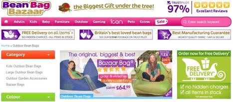 Outdoor Bean Bags | Bean Bag Bazaar | fdgaeh | Scoop.it