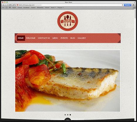 37 of the Best Responsive Restaurant WordPress Themes 2013   Responsive WordPress Themes   Scoop.it