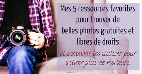 5 Ressources pour des photos gratuites et libres de droits. | graphic-design | Scoop.it