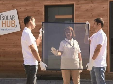 Le vitrage photovoltaïque transparent entre dans la cour des grands | Construction Durable | Scoop.it