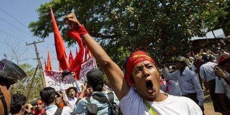 Birmanie : 300 étudiants toujours encerclés dans un monastère | L'enseignement dans tous ses états. | Scoop.it