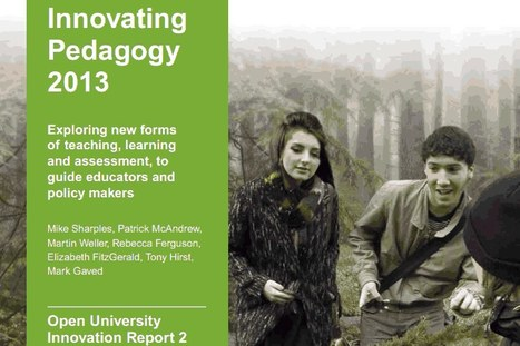 Innovating Pedagogy 2013 | Learning Technology News | Scoop.it