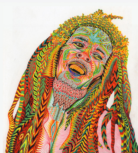 The Most Psychedelic Portraits We've Ever Seen! | Hand made | Scoop.it