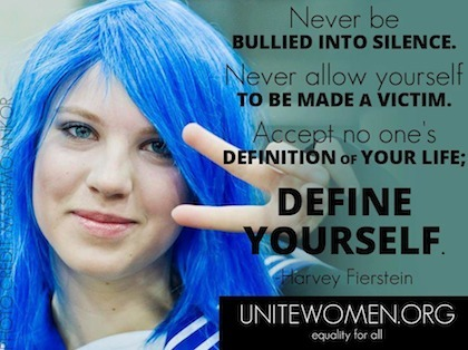 Never be silenced. | Coffee Party Feminists | Scoop.it