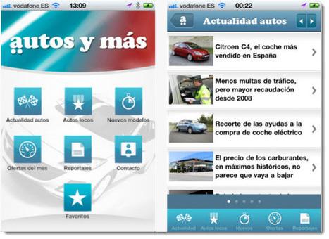 Autos y más, aplicación para conocer todo del mundo del motor [iOS] | LOS 40 SON NUESTROS | Scoop.it