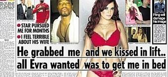 Buzz: Patrice Evra et ses folies sexuelles enflamment les Tabloids anglais ! (photo) | cotentin webradio Buzz,peoples,news ! | Scoop.it