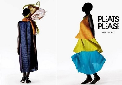 PLEATS PLEASE ISSEY MIYAKE / FW 2013 PHOTOGRAPHED BY JULIA NONI | fashion on dapaper mag | Scoop.it