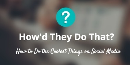 The secrets of social media's most successful sharers | AtDotCom Social media | Scoop.it