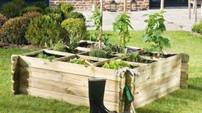 Aménager un carré potager dans son jardin avec Mr Bricolage
