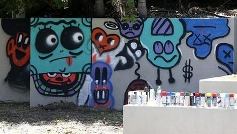 Surfers hotel covers Bieber 'art' - NEWS.com.au | Street art news | Scoop.it