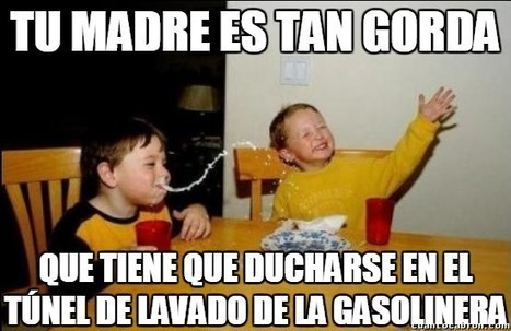 Meterse con las madres está feo, pero es tan divertido siempre que sea sin maldad | Humor24h | Scoop.it