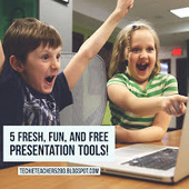 TechieTeacher5280: Five Fresh, Fun, and FREE Presentation Tools | Going Digital | Scoop.it
