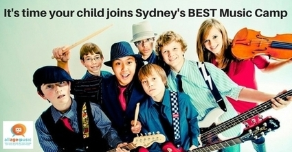 GET YOUR MUSIC ON - MUSIC CAMP Ages 5 - 12yrs - allagemusic | All Age Music | Scoop.it