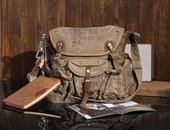 Distressed canvas cross body bags unisex | personalized canvas messenger bags and backpack | Scoop.it
