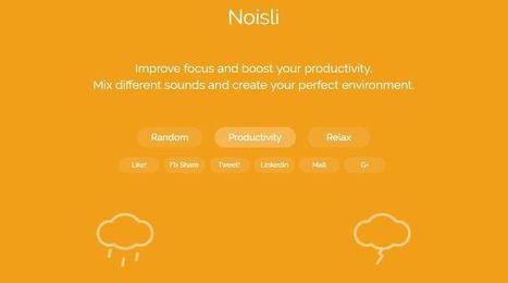 5 buenas páginas para generar y escuchar sonidos ambientales | Aprendizaje | Scoop.it