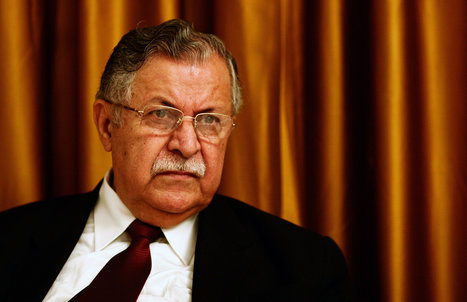Iraq's President, Jalal Talabani, Is Said to Be in a Coma After Stroke | Current Middle East News | Scoop.it