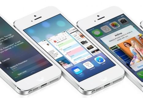 iOS 7 ya disponible, estas son todas sus novedades | Cesar Rios | Scoop.it