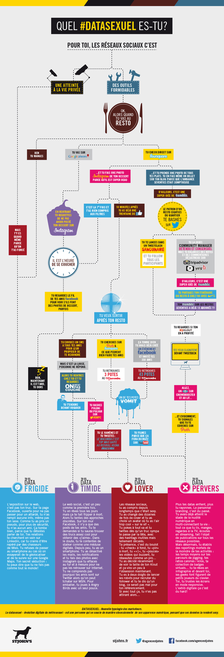 Infographie : connaître son Datasexuel | Marketing & Geek's attitude | Scoop.it