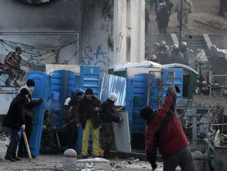 Ukraine protesters plead for Western help | Politics | Scoop.it