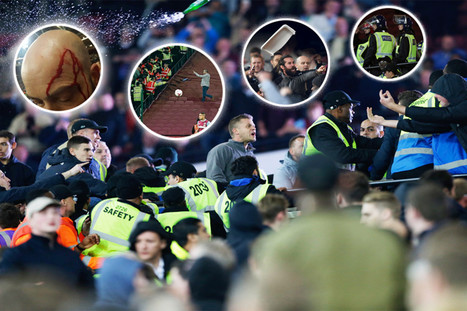 West Ham's win over Chelsea descends into chaos as London Stadium turns violent | Policing news | Scoop.it