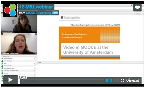 "Vidéo : ""Exploring different video formats in MOOCs"" 