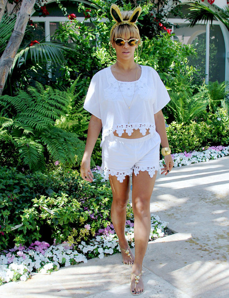 Beyonce's Unbelievably Affordable Easter Outfit: Get the $100 Look! - Us Magazine | Beyonce | Scoop.it