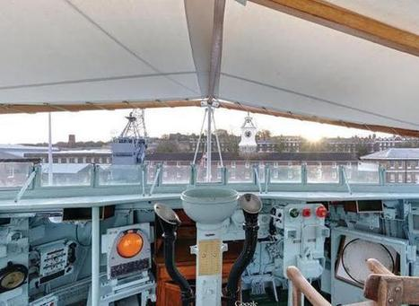 Take a virtual tour aboard Chatham Historic Dockyard's HMS Cavalier, the last ... - Kent Online | Virtual tours, visite virtuelle, google visit pro | Scoop.it
