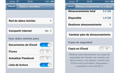 Evita el consumo de tu tarifa de datos de forma descontrolada | Programación iphone | Scoop.it