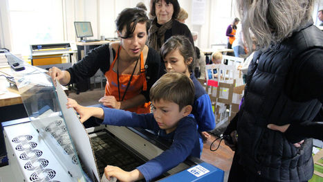 Can Kids As Young As Three Learn to Design and Create In Fab Labs? - Mind/Shift | teaching with technology | Scoop.it