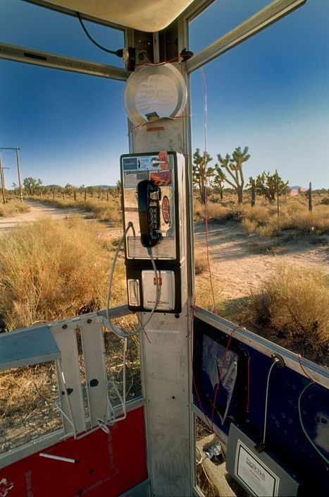 The Weird History of the Mojave Phone Booth, Where the Number Lives On - Urban Ghosts Media | Strange days indeed... | Scoop.it