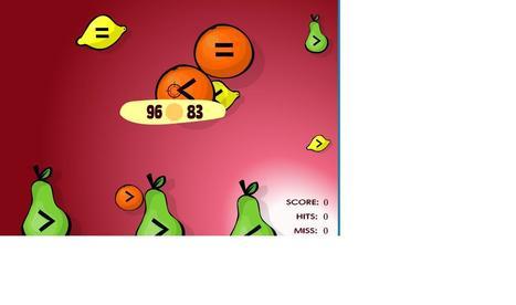 Math Games: Fruit Shoot Compare Integers   sjm negnum   Scoop.it