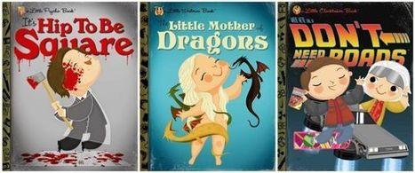 Des couvertures de livres pour enfants inspirées par la culture pop - Actualitté.com | Baboué ? | Scoop.it