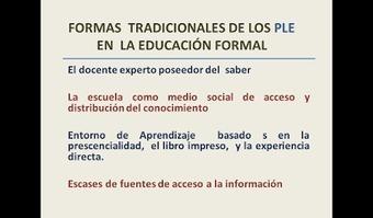 Educación y TICe: Entornos Personales para el Aprendizaje (PLE) | eduvirtual | Scoop.it